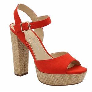 Jessica Simpson Priella Platform Sandal Heels